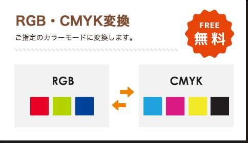 RGB・CMYK変換 無料