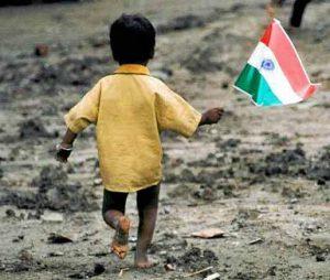 インドの貧しい子供